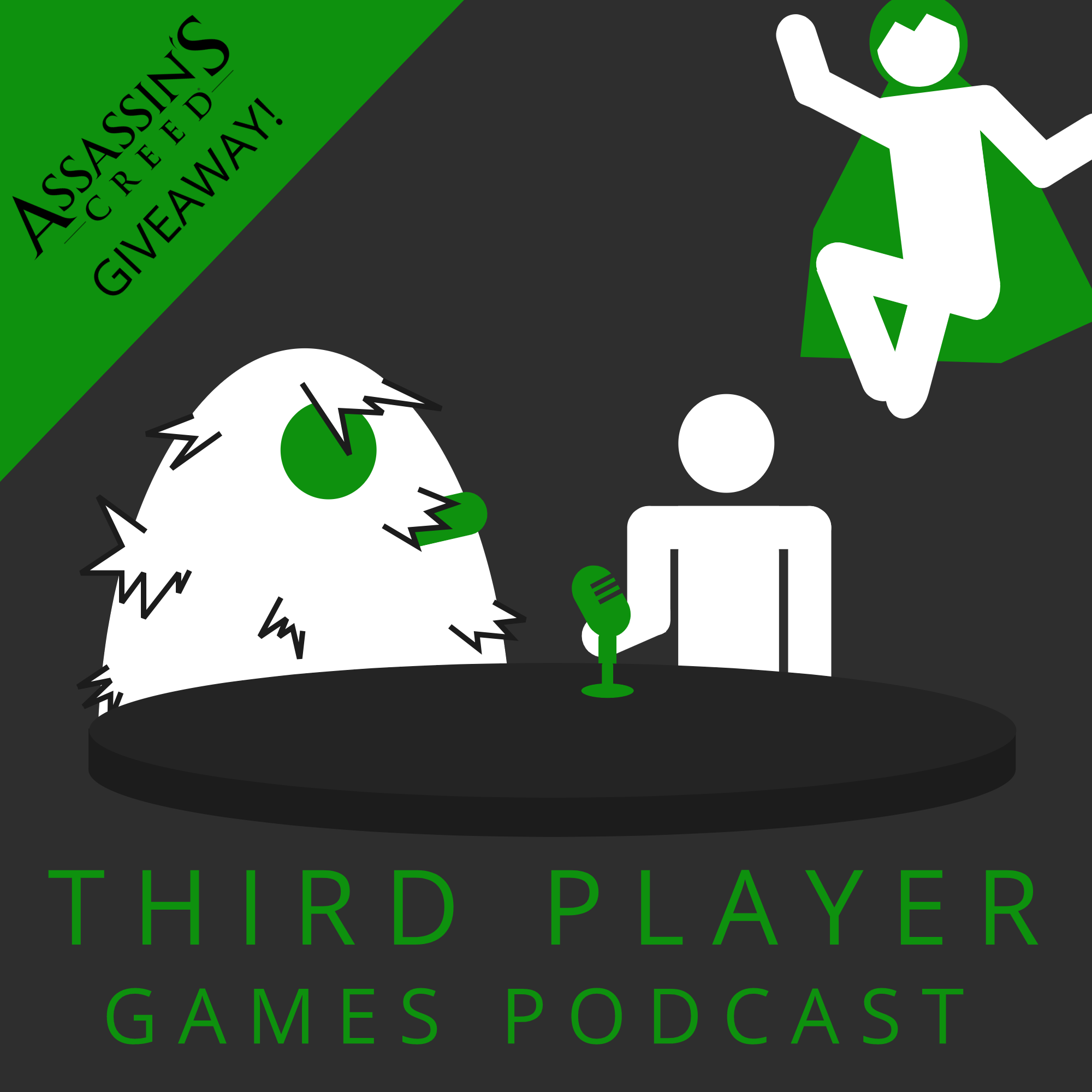 Assassins Creed Origins Giveaway - Third Player Games Podcast (Ep. 6)