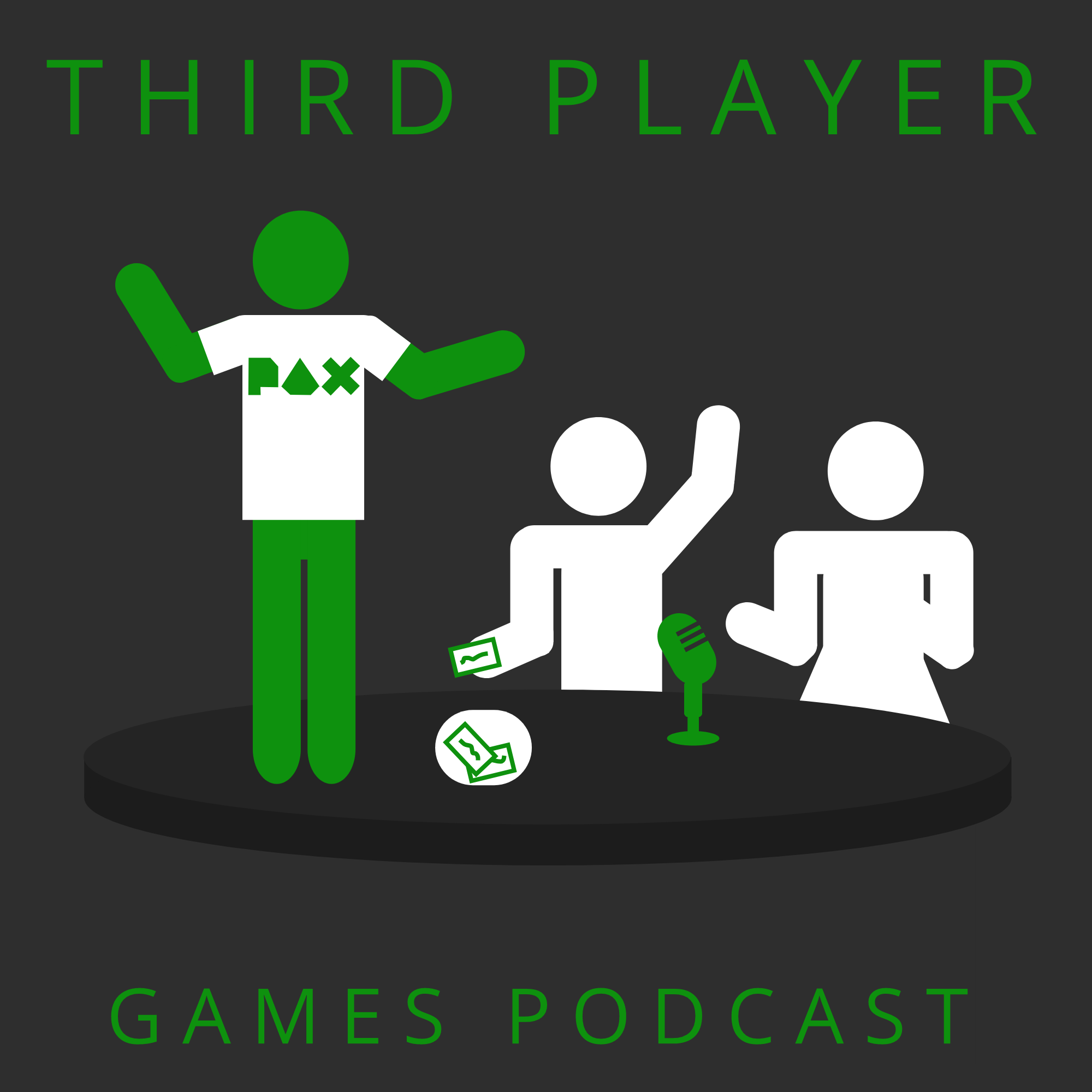 PAX South - Third Player Games Podcast (Ep. 7)